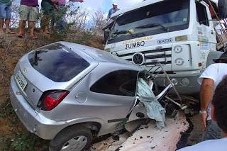 Cuité, Cubati e Nova Floresta lideram o Ranking de acidentes na Região
