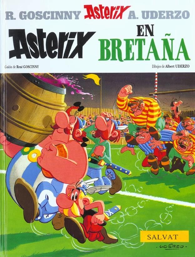 Astérix en Bretaña,Albert Uderzo, René Goscinny,Salvat  tienda de comics en México distrito federal, venta de comics en México df