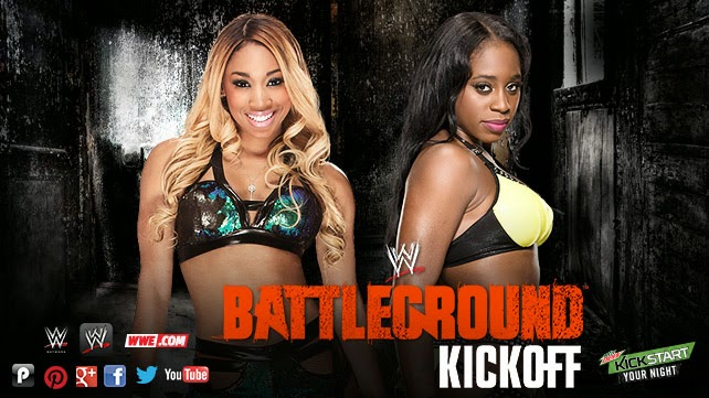 Battleground 2014 » Cameron vs. Naomi (Kickoff Match)
