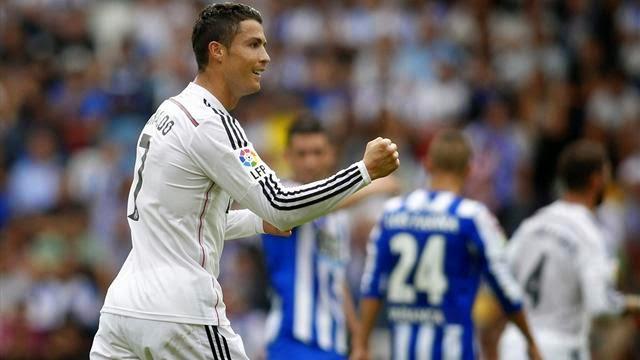 رونالدو رجل المبارة .. ريال مدريد