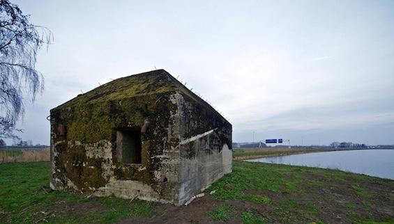 Ebbie's Eye: Rietveld Landscape & Atelier de Lyon : Bunker 599