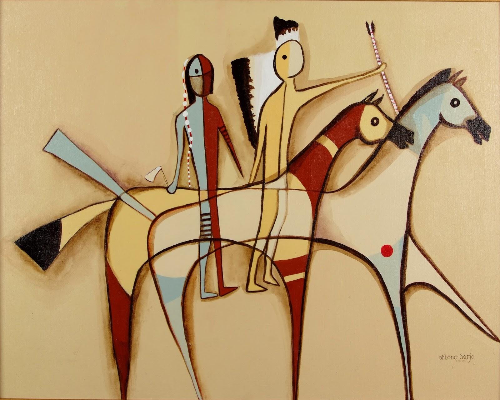 The Ledger Art Of Sharron Ahtone Harjo