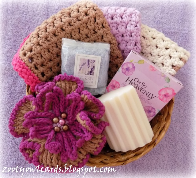 crochet wash cloth