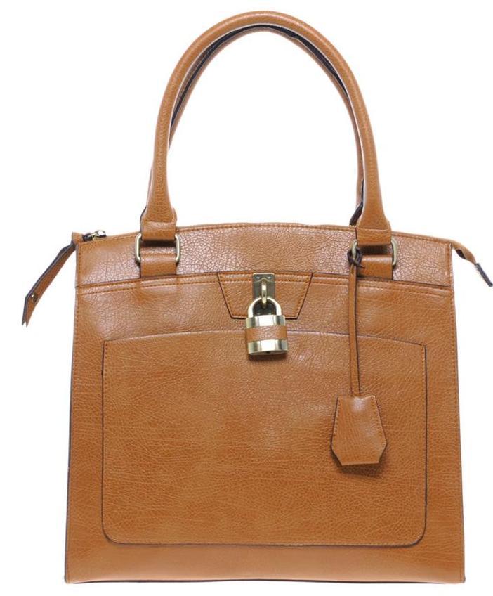Warehouse front shopper bag