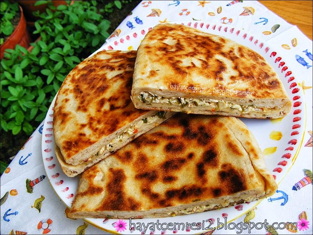 cokelekli peynirli bazlama ekmek 6