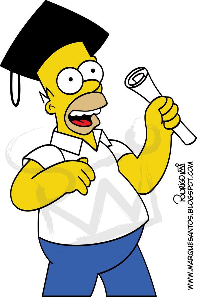 Mais Um Homer Em Vetor