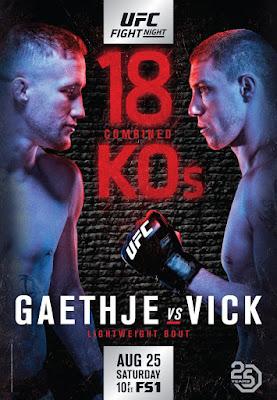 UFC Fight Night 135 Gaethje Vs Vick 2018 Custom HD Latino