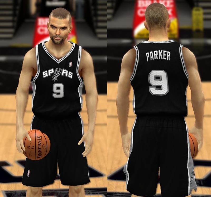 NBA 2K14 Spurs Jersey Patch