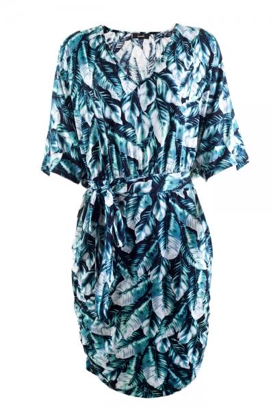 Vestido+estampado+pretagil+69 Plus Size fashion style a la PRETA GIL