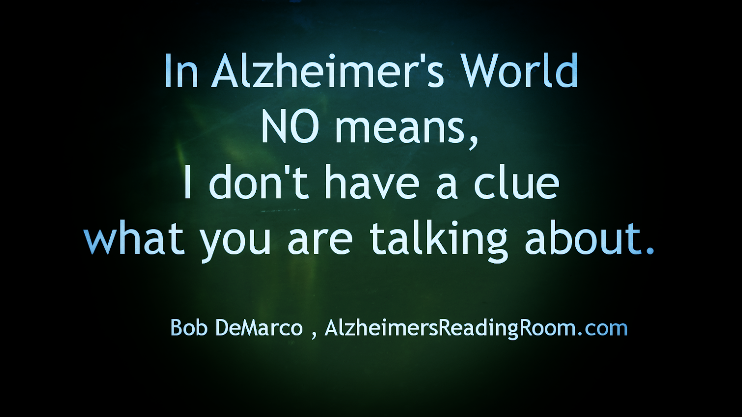 How the Invention of Alzheimer's World Changed My Life | Alzheimer's Reading Room