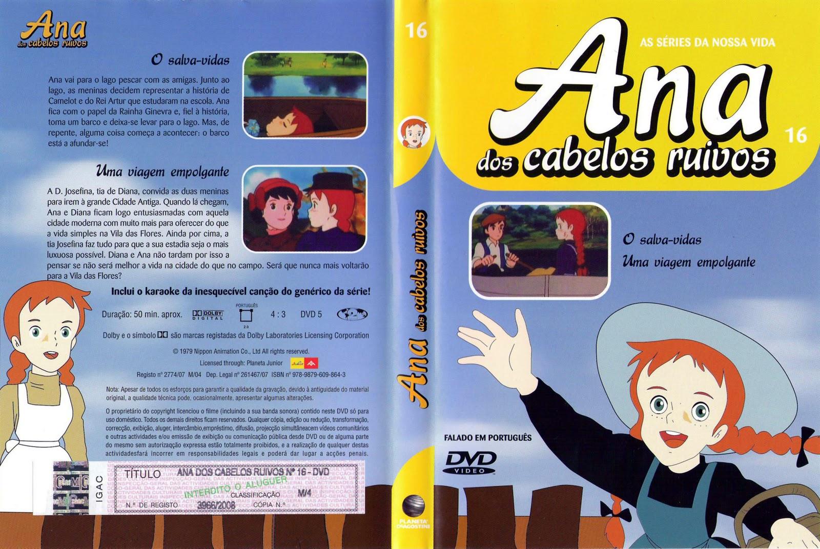 Ana dos Cabelos Ruivos Vol.1 A 25  PT-PT Ana+dos+Cabelos+Ruivos+-+Vol+16capa
