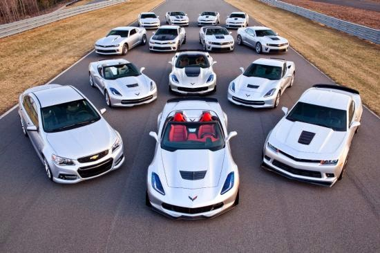Chevrolet 2015 Performance Cars
