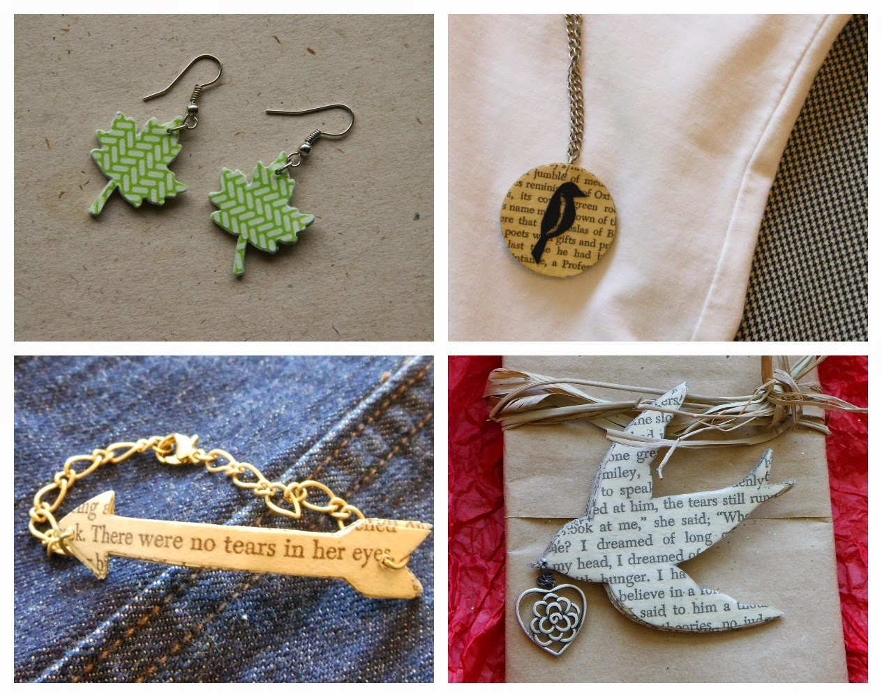 paper jewelry gifts