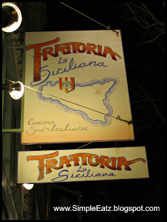 Trattoria Food Sign