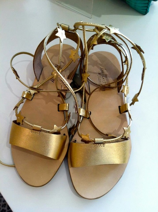 Loeffler Randall Gold Starla Sandal At Van Jean Columbia SC Where To Buy