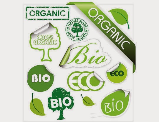 Green theme stickers icon vector material