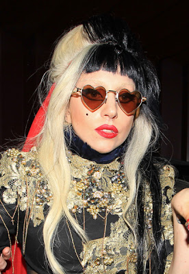 Lady Gaga Hairstyles Styling