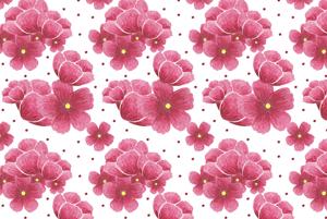 Sakura Spring Pattern  by Haidi Shabrina