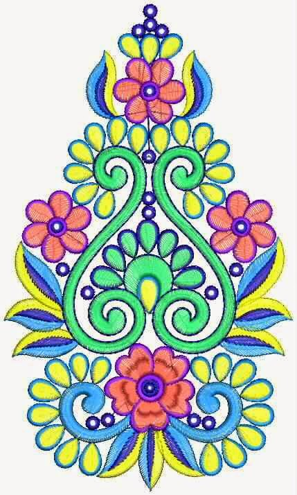 Embdesigntube Tamilnadu Fashion Embroidery Patch Designs