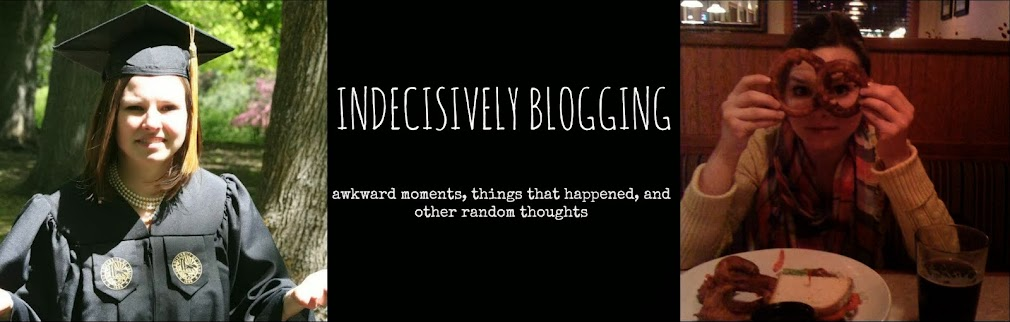 Indecisively Blogging