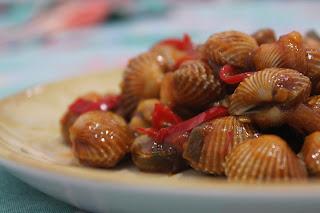 Resep memasak Tumis Kerang Dara