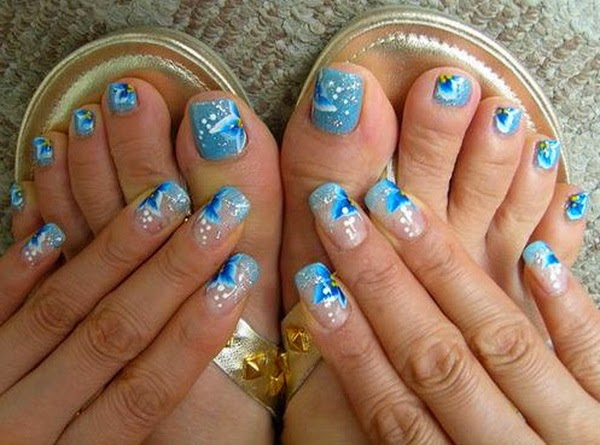Nails for feet , Uñas para los pies 2015 , 2016 , 2017