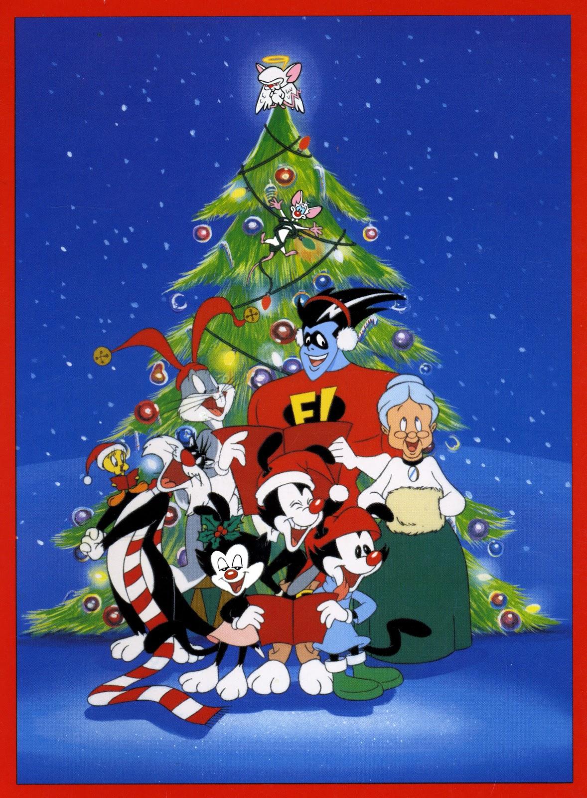 Cartoonatics: Merry Christmas from Yakko, Wakko and Dot ...