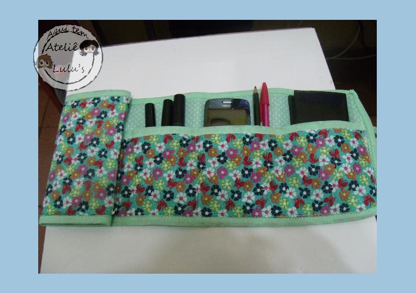 Organizador de bolsa em tecido personalizado - Organizador de bolsas de plastico ...