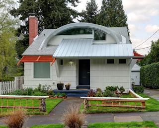 Contoh Rumah Yang Unik dan Nyentrik Terbaru