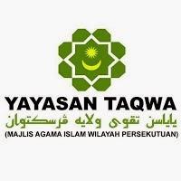 Jawatan Kosong Yayasan Taqwa Wilayah Persekutuan