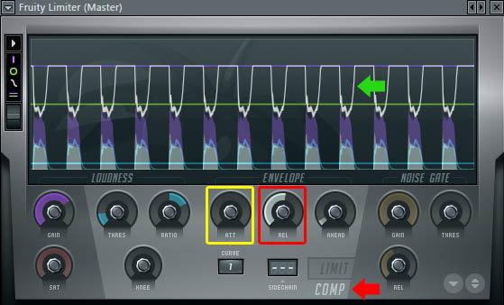 FL Studio - Panduan Penggunaan Plugin Efek Compressor (Gambar 4)