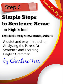 Simple Steps to Sentence Sense by Charlene Tess