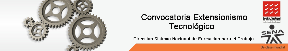 Convocatoria Extensionismo