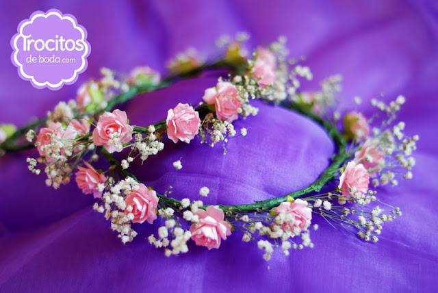 coronitas de boda trocitos de boda blog mi boda gratis