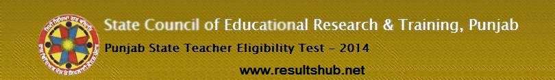 PSTET 24 Aug 2014 Exam Admit Card Download