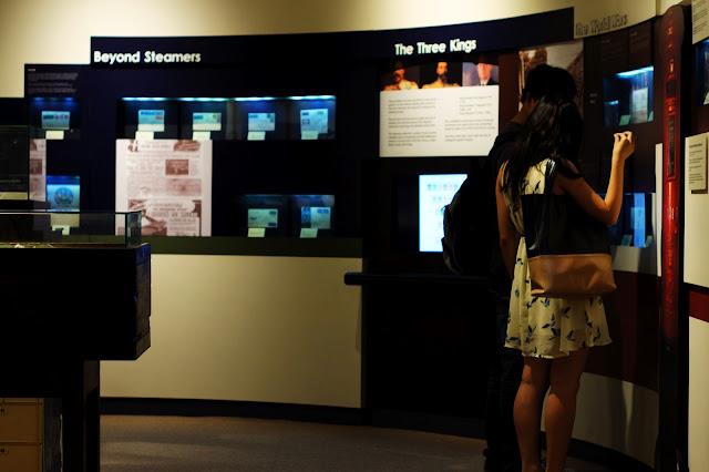 museum singapore singapura couple