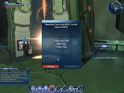 DC Universe Online - Resetting Traits
