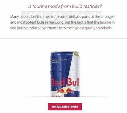 RedBull Menggunakan Taurine Synthetic (HALAL)