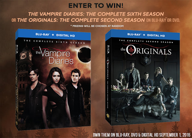 #TVD Season 6 and #TheOriginals Season 2 are available now! enter to win one