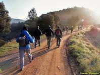 """Avançant pel Camí del Serrat de l'Àliga. Autor: Francesc: """"Caminaire"""""""