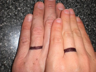 wedding ring tattoo designs pictures
