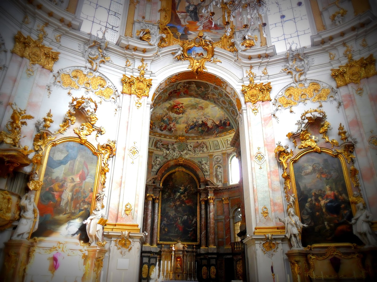 Baroque Architecture Interior Church The Baroque Interiors Of The