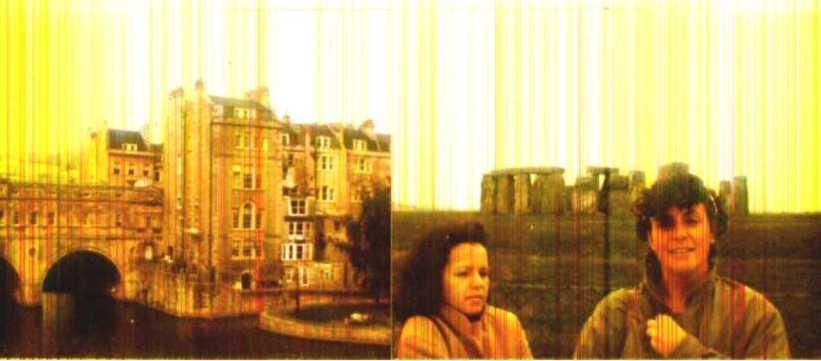 Bath, Stonehenge, Fátima e Janine em domingo gelado do outono inglês de 1986
