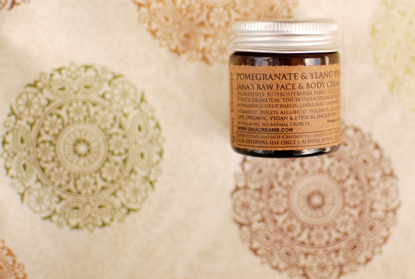 Gaia Creams Pomegranate & Ylang Ylang Raw Face & Body Cream