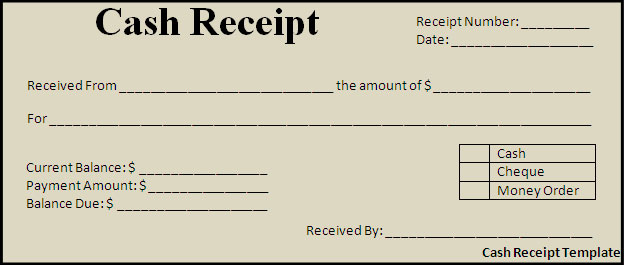 Doc1275900 Cheque Payment Receipt Format in Word cheque – Money Receipt Format Word