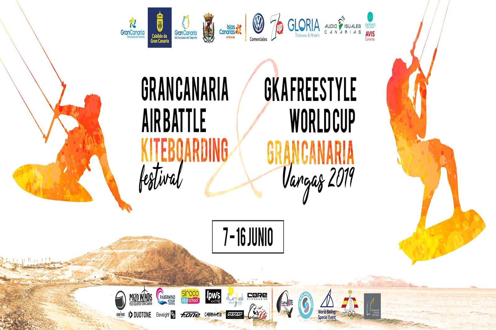 Gran Canaria Airbattle Kiteboarding Festival Vargas 2019