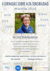 II Jornadas sobre Alta Sensibilidad en Murcia