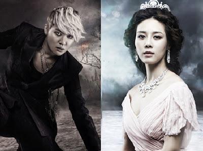 Junsu y Ok Juhyun ambos elenco de Elisabeth, atraen anticipación. Eli02