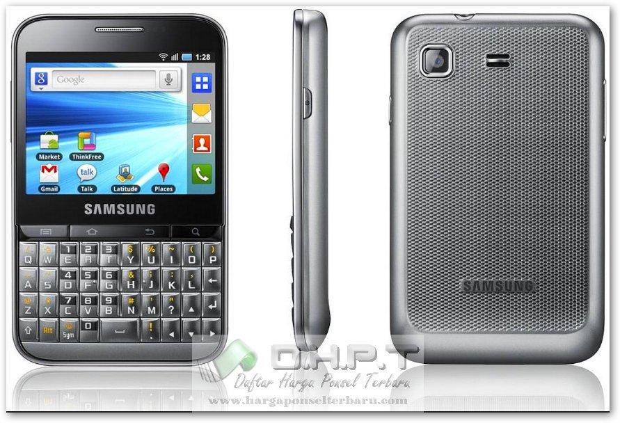 Samsung B7510 Galaxy Pro Review Harga Hp serta Spesifikasi lengkap