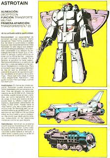 Astrotrain (ficha transformers)